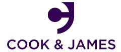 Logo of Cook & James