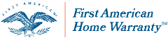Logo of First American Home Warranty